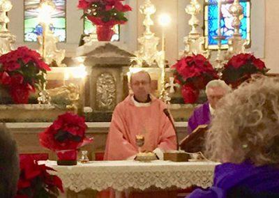 Inaugurazione con il Vescovo Enrico Solmi