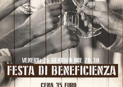 Festa di Beneficienza 26 Gennaio